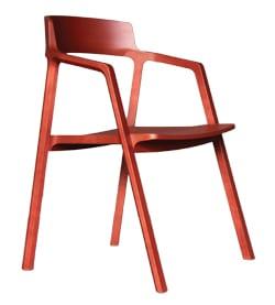 DESIGN AND CRAFTSCOUNCILOFIRELANDAodh Furniture Aodh Aran red right side view PM