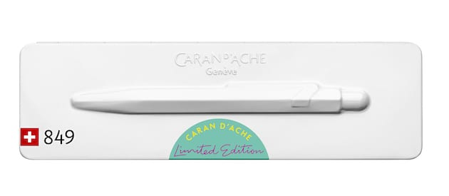 Caran d'Ache Claim Your Style turquoise case